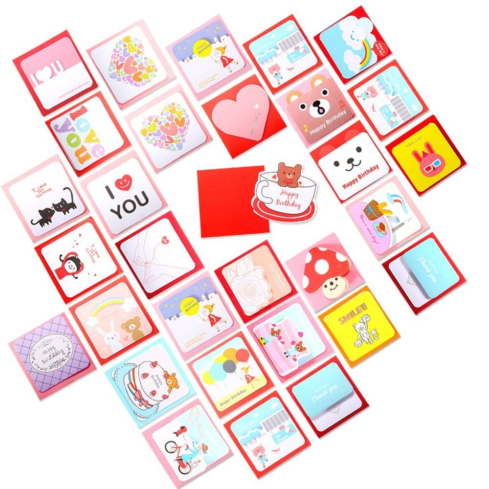 Geekper 40 Pack Greeting Cards - $3.99 + Free Shipping