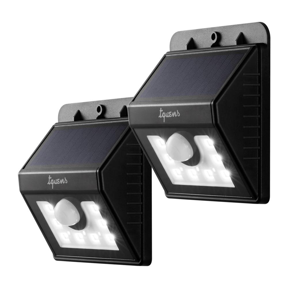 Tquens Lighting Products: 2-Pack Tquens Solar Motion Sensor Light (8LED) $8.80, Tquens LED Camping Lantern $4.50 & More + Free Shipping w/ Prime
