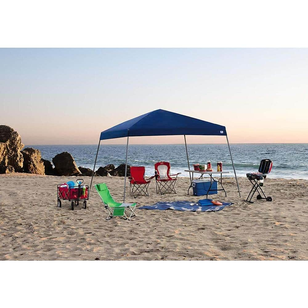 Sportcraft 12' x 12' Instant Canopy w/ Slanted Legs (Blue) $45 + free shipping
