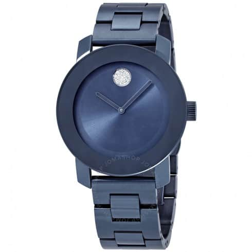 Movado Bold Women's Watch (Light Blue) $229 + Free Shipping