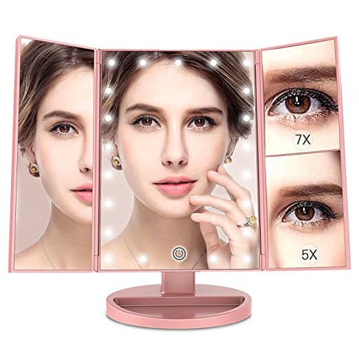 MayBeau Makeup Vanity Mirror with 7X/5X Magnification - $11.99 + FSSS