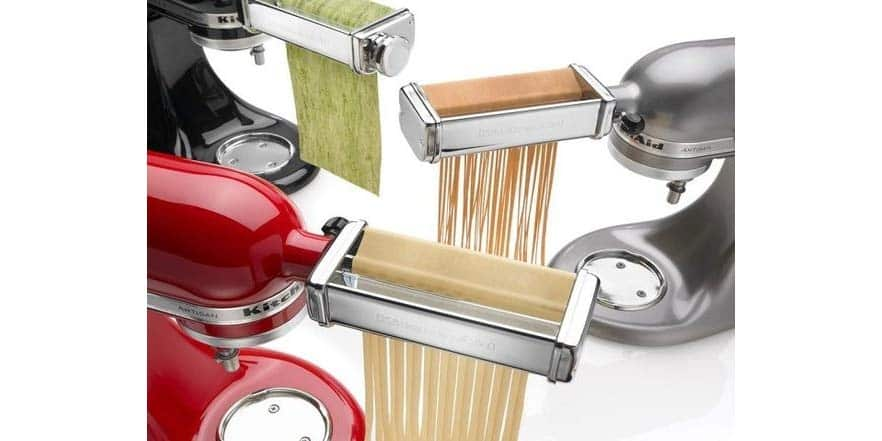 KitchenAid KSMPRA Style 3-Piece Pasta Roller & Cutter Attachment Set - $95.99 + Free Shipping with Amazon Prime