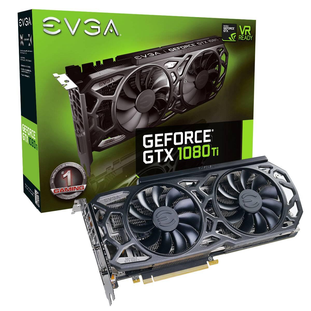 EVGA GeForce GTX 1080 Ti Black Edition GAMING - $699.95 + Free Shipping