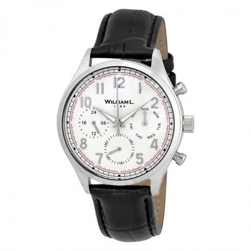 William L 1985 Men's Chronograph Watches (various styles) from $49.99 + Free Shipping