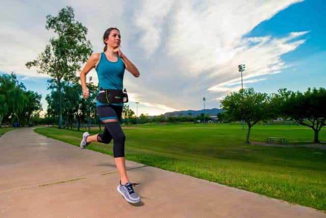 Hydration Running Belt w/ Two Water Bottles & Zippered Compartment $7.91 + Free shipping