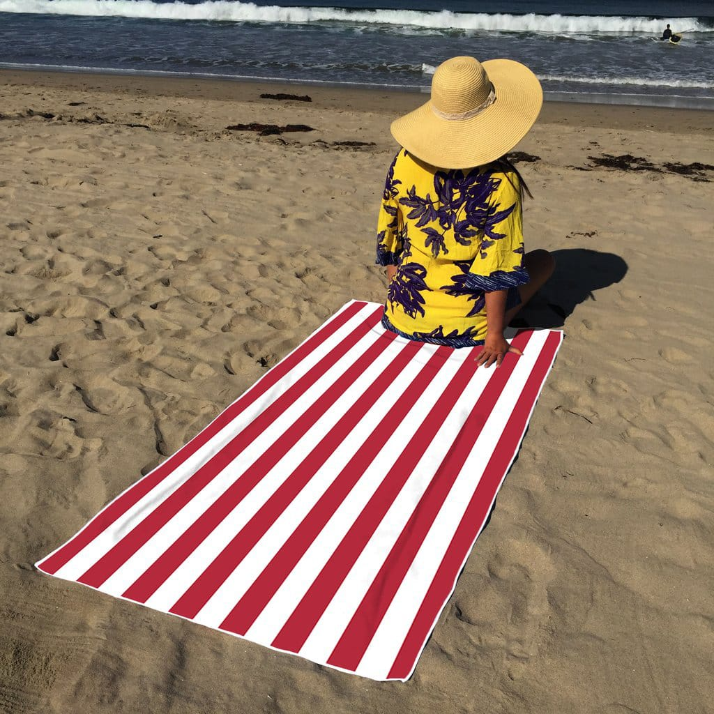 Cabana Oversized Beach Towels (Assorted Colors/Styles) 4 for $21.96 + Free shipping