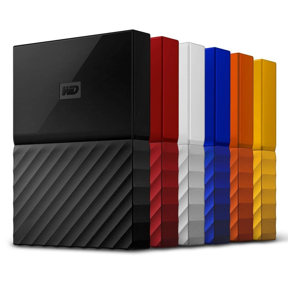 1TB WD My Passport USB 3.0 Portable Hard Drive (Recertified, Various Colors) $31.49 + Free Shipping
