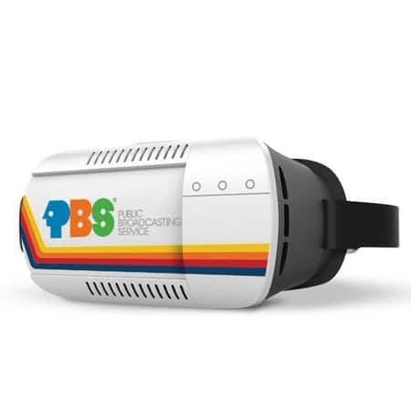 PBS Retro Space-Themed Virtual Reality Headset for Android and iPhone + PBS Lunar Base VR App - $7.99