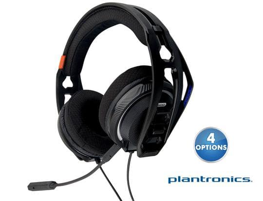 Refurbished Plantronics RIG400 Gaming Headset for PC, PS4, or Xbox