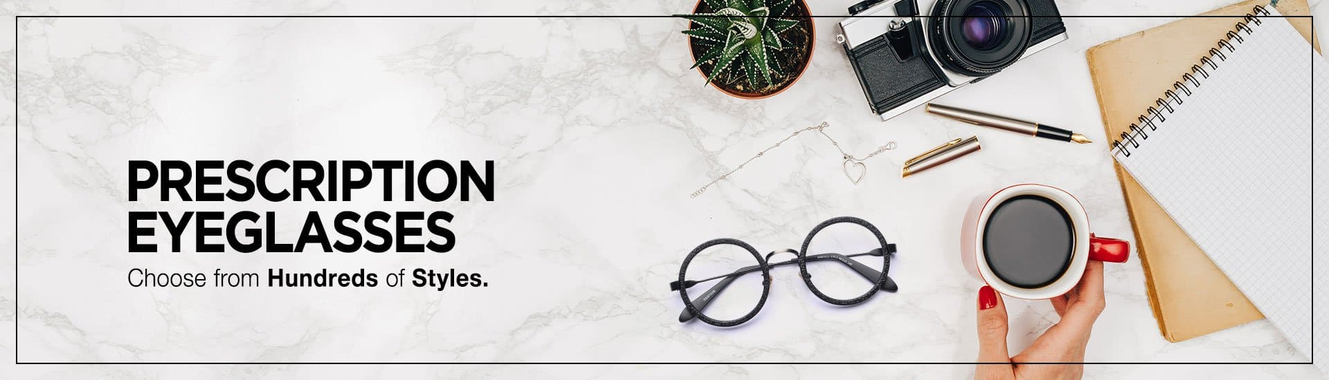 Complete pair of Rx Eyeglasses for $7.95 Delivered