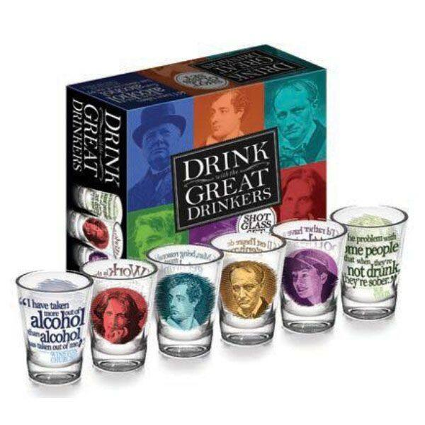 Great Drinkers Shot Glasses $14.95 + Free shipping