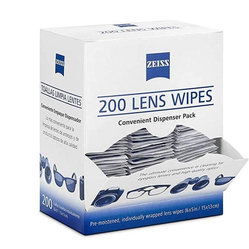 832d689ee2 Zeiss Pre-Moistened Lens Cleaning Wipes - 200-Count Wipes -  12.74 + Free  Shipping
