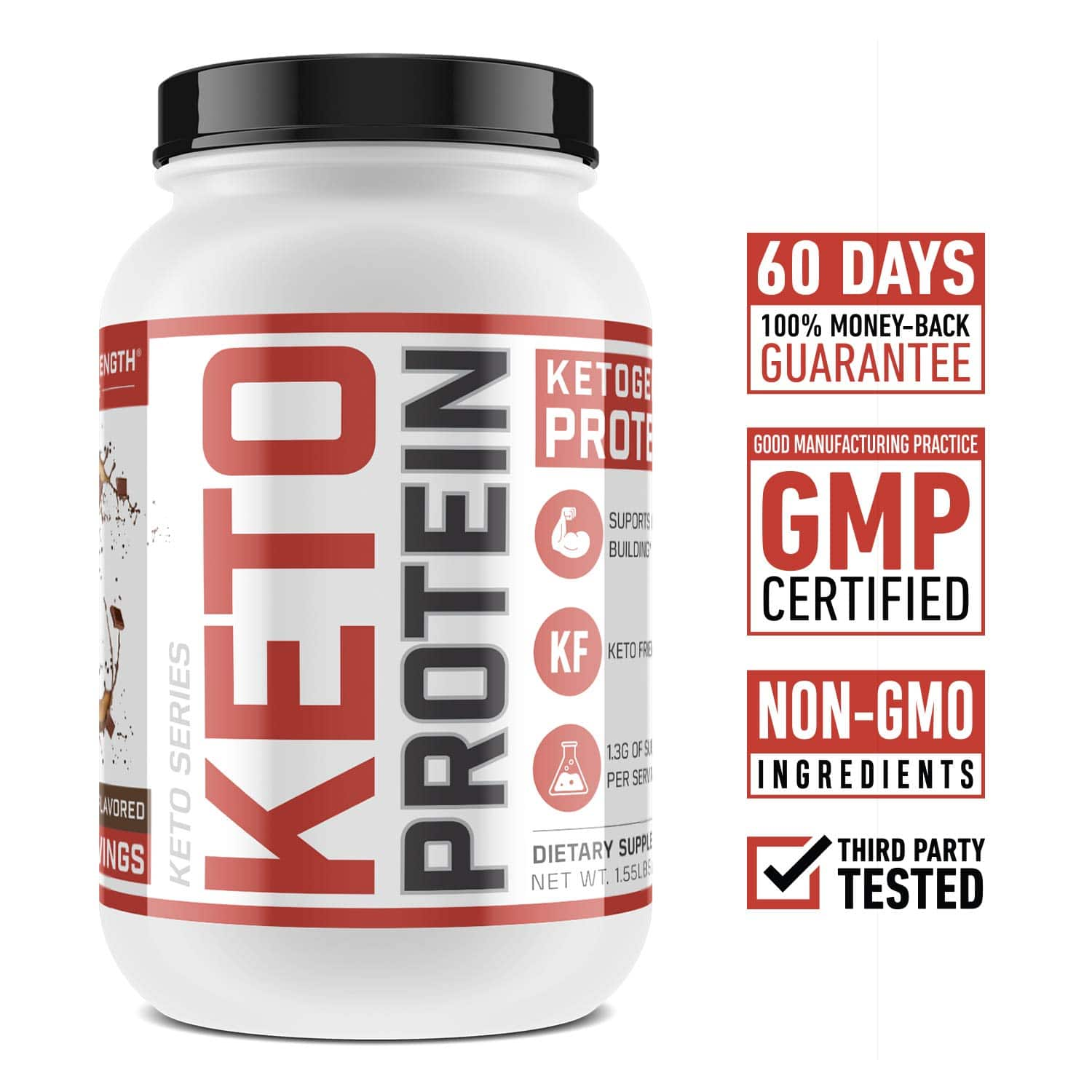 Low-Carb Ketogenic Protein Powder - 33.71 + Free Shipping