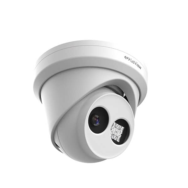 LaView 8.3MP 4K UHD PoE Metal 120dB WDR ANR Turret IP Camera $119.99 + FS