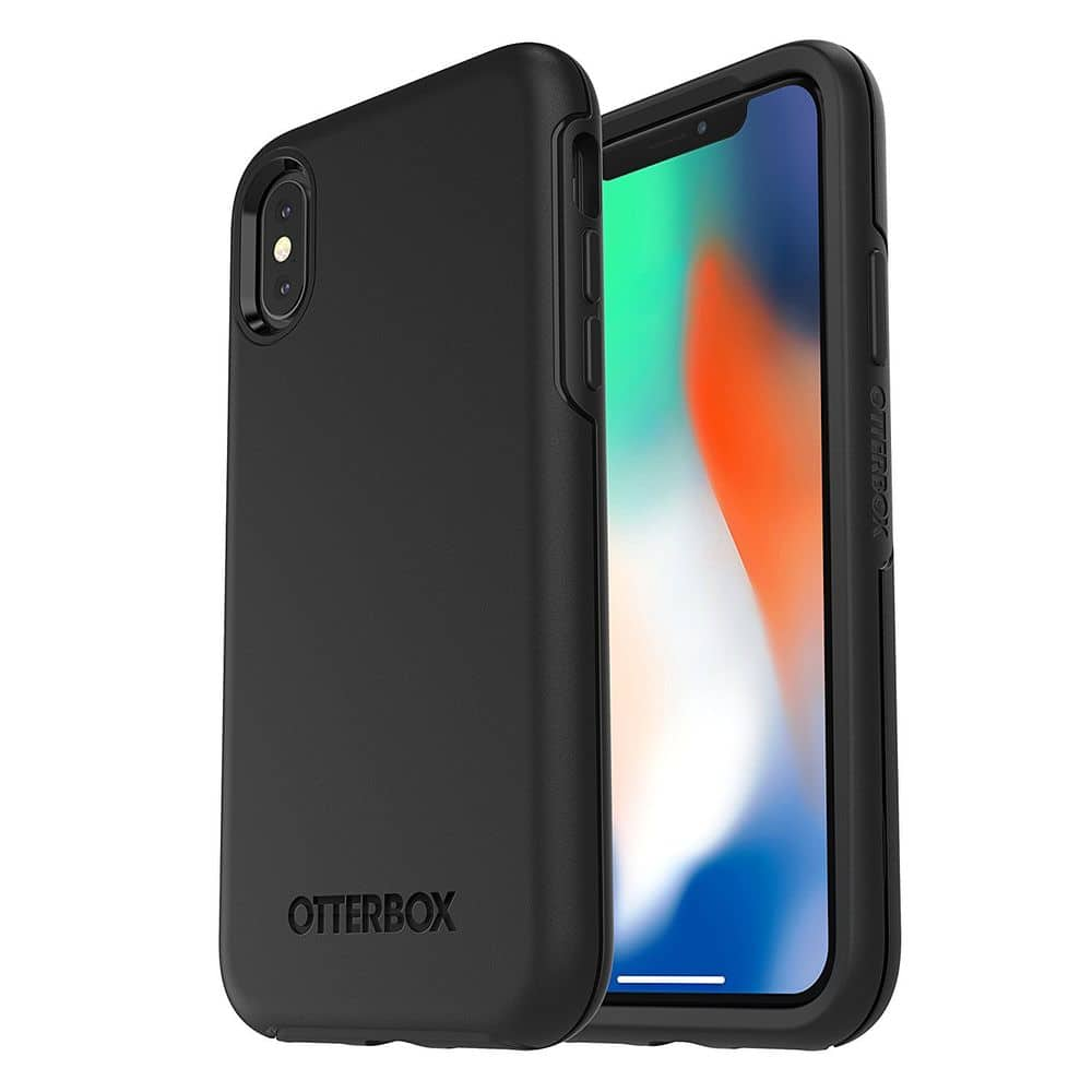 OtterBox Symmetry Series Case for iPhone X & iPhone XS Black $13.99 + FS