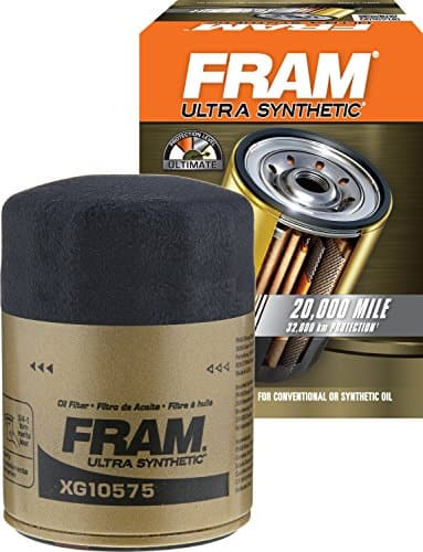 FRAM XG10575 Ultra Synthetic Spin-On Oil Filter with SureGrip [Ultra Synthetic] $8.45