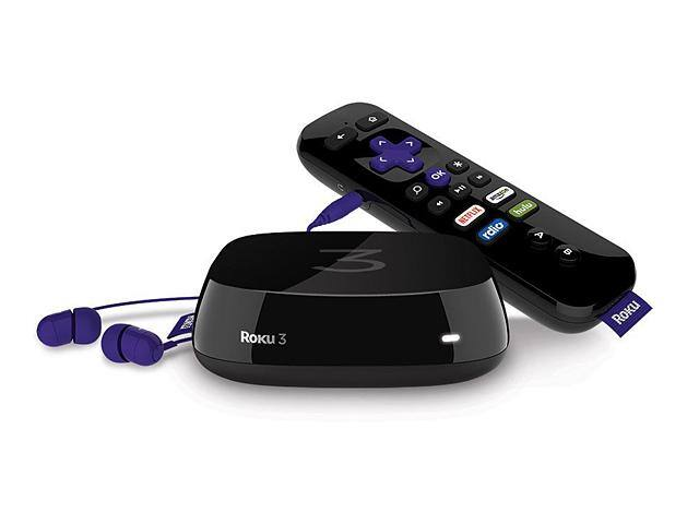 Roku 3 (4230R) Streaming Media Player With Voice Search (2015 Model) - Certified Refurbished - $34.99 + Free Shipping