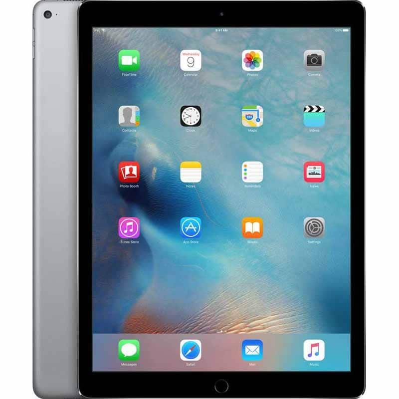 Apple 12.9-inch iPad Pro Wi-Fi 128GB - Space Gray (ML0R2LL/A) - 2015 Model - Store Pickup Only $399.9