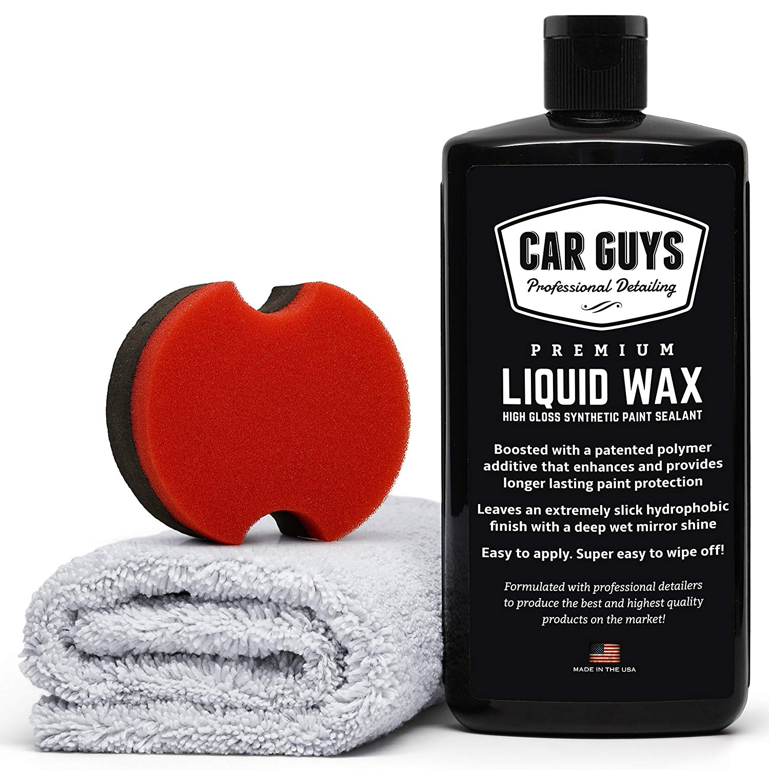 CarGuys Liquid Wax 16 oz Kit - $33.97 After 15%  Clip Coupon at Amazon