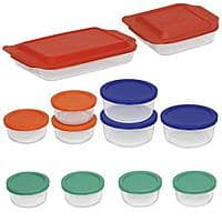 Walmart Deal: Walmart online: Pyrex 24-Piece Glass Set $19 Plus Free Store Pick Up