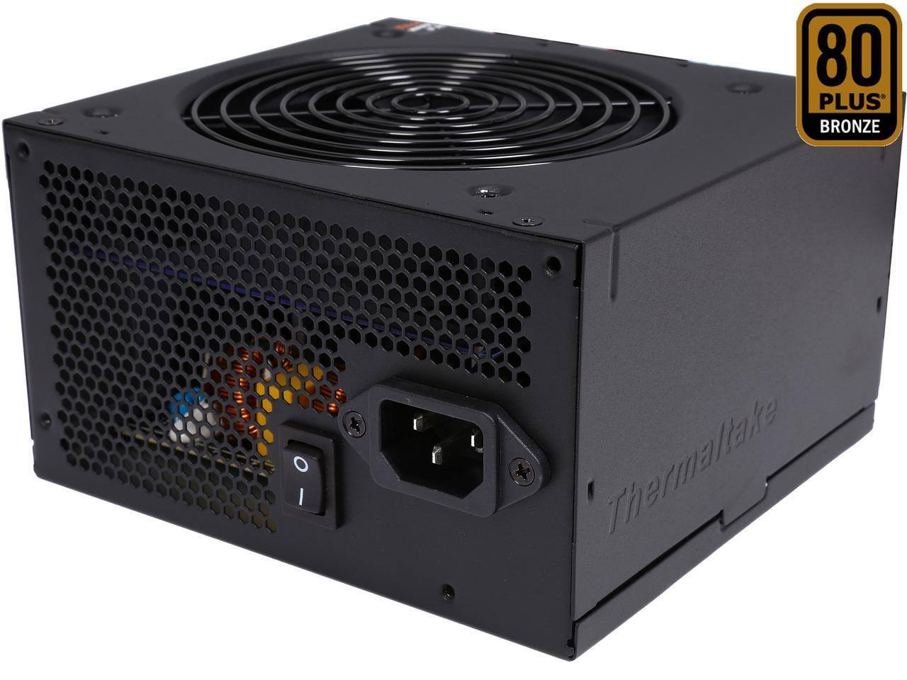 Thermaltake TR2 Bronze 500W SLI/CrossFire Ready ATX12V v2.31 / EPS v2.92 80 PLUS BRONZE Certified 5 Year Warranty Active PFC Power Supply Haswell Ready PS-TR2-0500NPCBUS-B $19.99