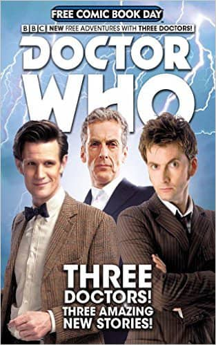 Doctor Who Comic FREE via Amazon
