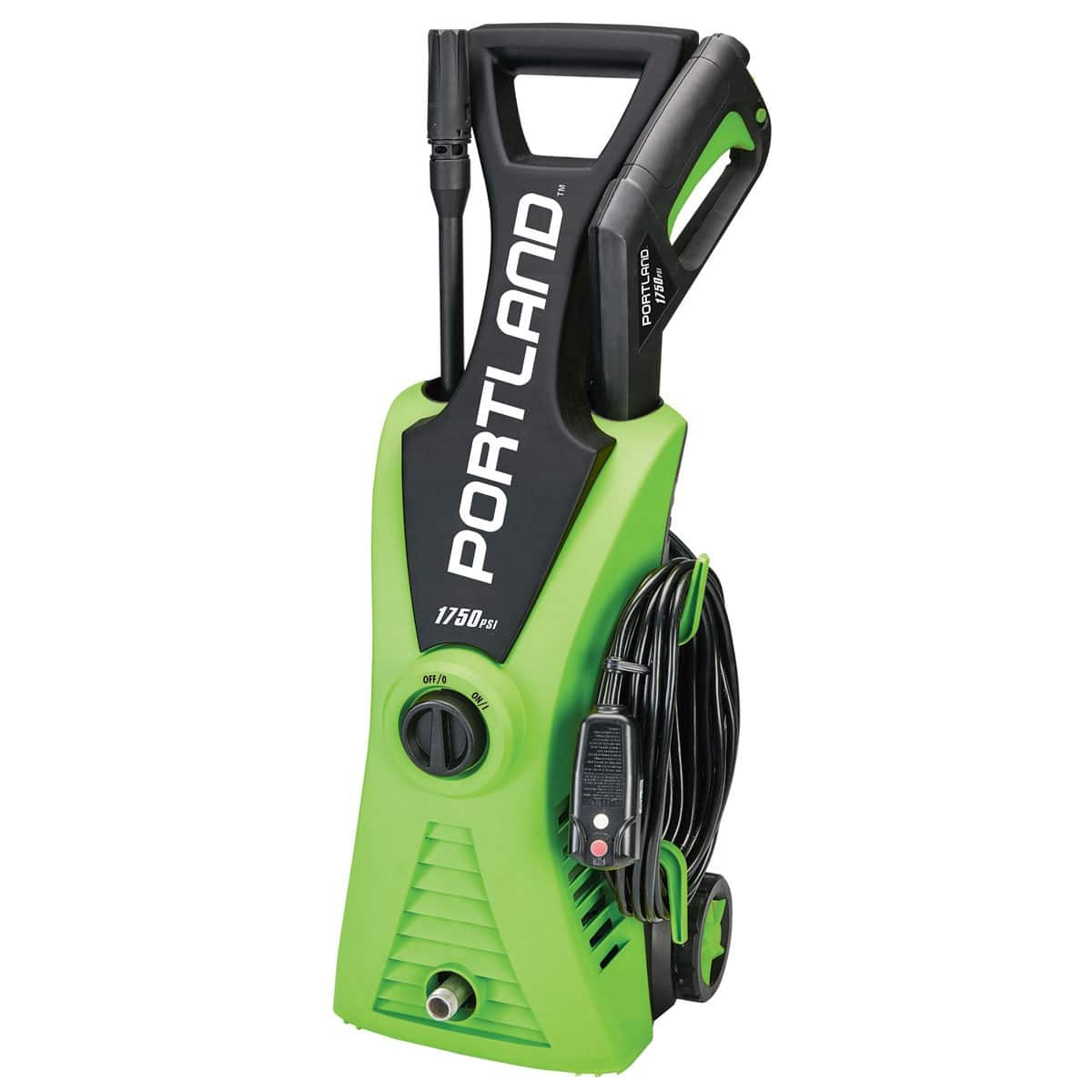 Portland Electric Pressure Washer 1750 PSI $79.99 at HF