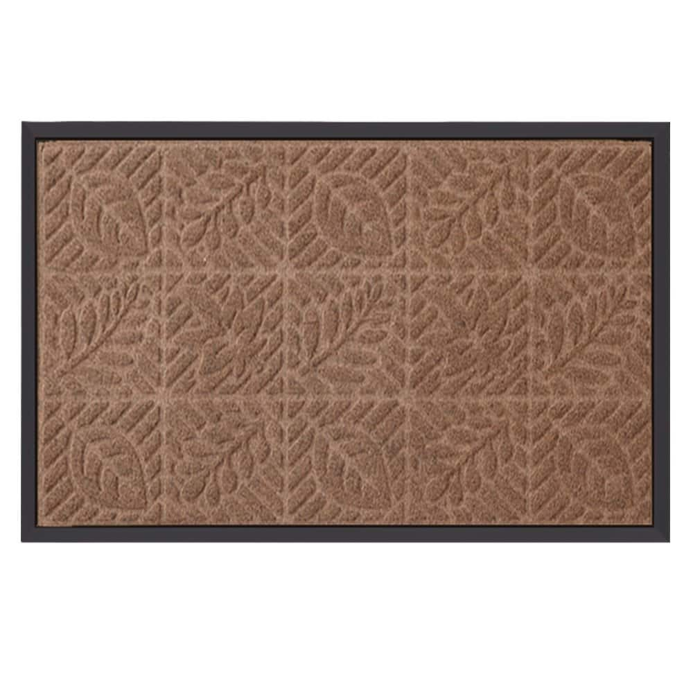 Large outdoor winter front door mat $11.25