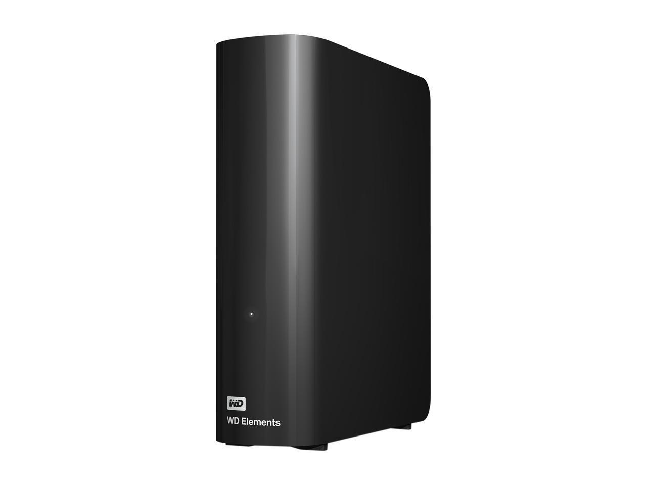 WD Elements 10TB USB 3.0 Desktop Hard Drive WDBWLG0100HBK-NESN Black $159.99