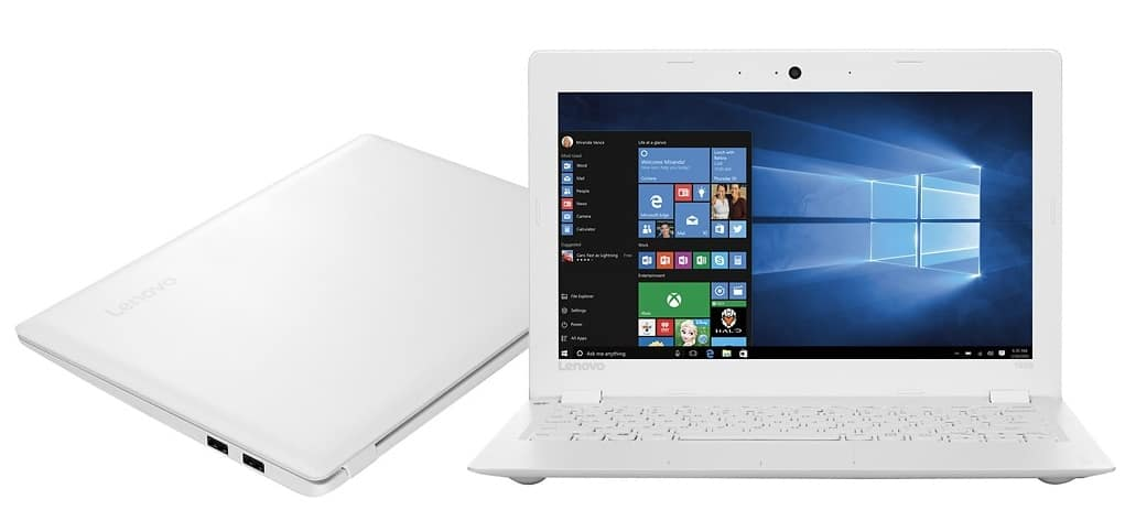 "Lenovo - Ideapad 100S 11.6"" Laptop - Intel Atom - 2GB Memory - 32GB eMMC Flash Storage - White- $130 + free shipping"