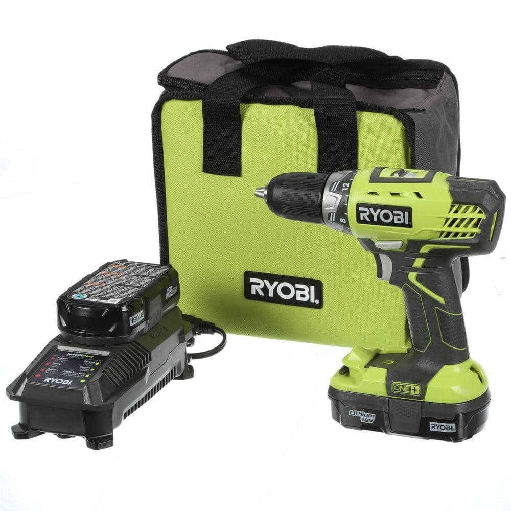 Ryobi one 18v compact drilldriver select ryobi tool slickdeals deal image greentooth Image collections