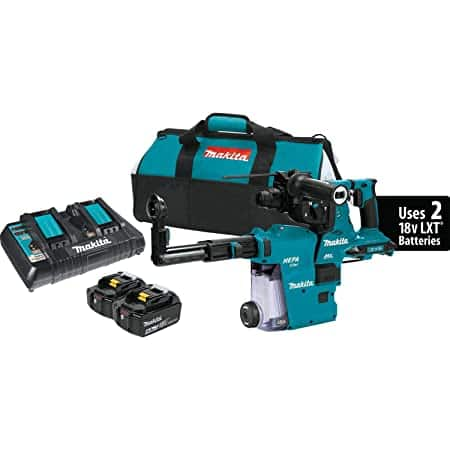 """$380 now -- Makita XRH10PTW 18V x2 LXT (36V) Brushless Cordless 1-1/8"""" AVT Rotary Hammer Kit $491 @ Amazon through 3rd party (dropped from $490.92)"""