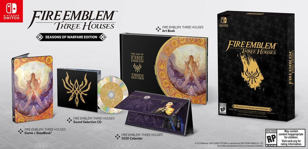 Fire Emblem: Three Houses Seasons of Warfare Edition Back In Store (GameStop) $99.99