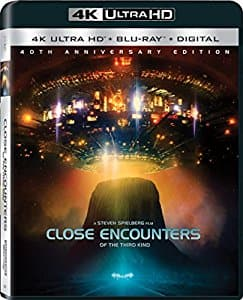 Close Encounters of the Third Kind Director's Cut 4K blu-ray $14.99 at Amazon