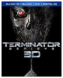 Terminator Genisys 3D Blu-Ray + DVD  + Digital HD + Blu-Ray  $9.99  Amazon & Best Buy