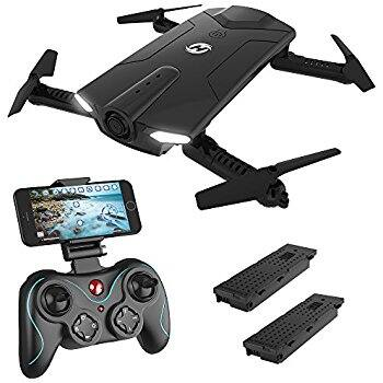 Holy Stone HS160 Shadow FPV RC Drone with 720P HD Wi-Fi Camera Live Video $42.49 @ Amazon regularly $99.95