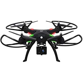 Holy Stone GPS Drone HS100 w/ Camera Live Video & GPS Return Home w/ Adjustable Wide-Angle 720P HD WIFI Camera $179 regular $279 at Amazon