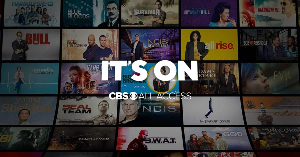 FREE Month of CBS All Access for new & existing customers.