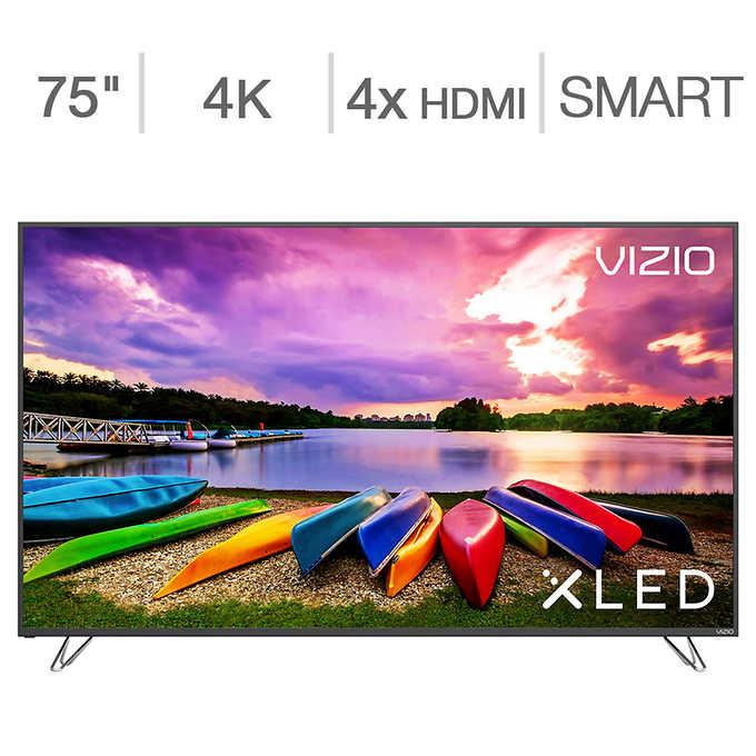 "75"" Vizio M75-E1 SmartCast 4K UHD XHDR Plus XLED HDTV In store only, YMMV $1499.81"