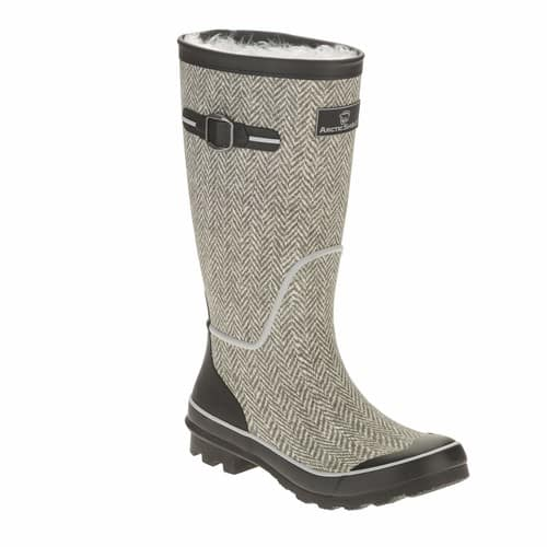 Arctic Shield Women's Tall Rubber Winter Boot $17.88