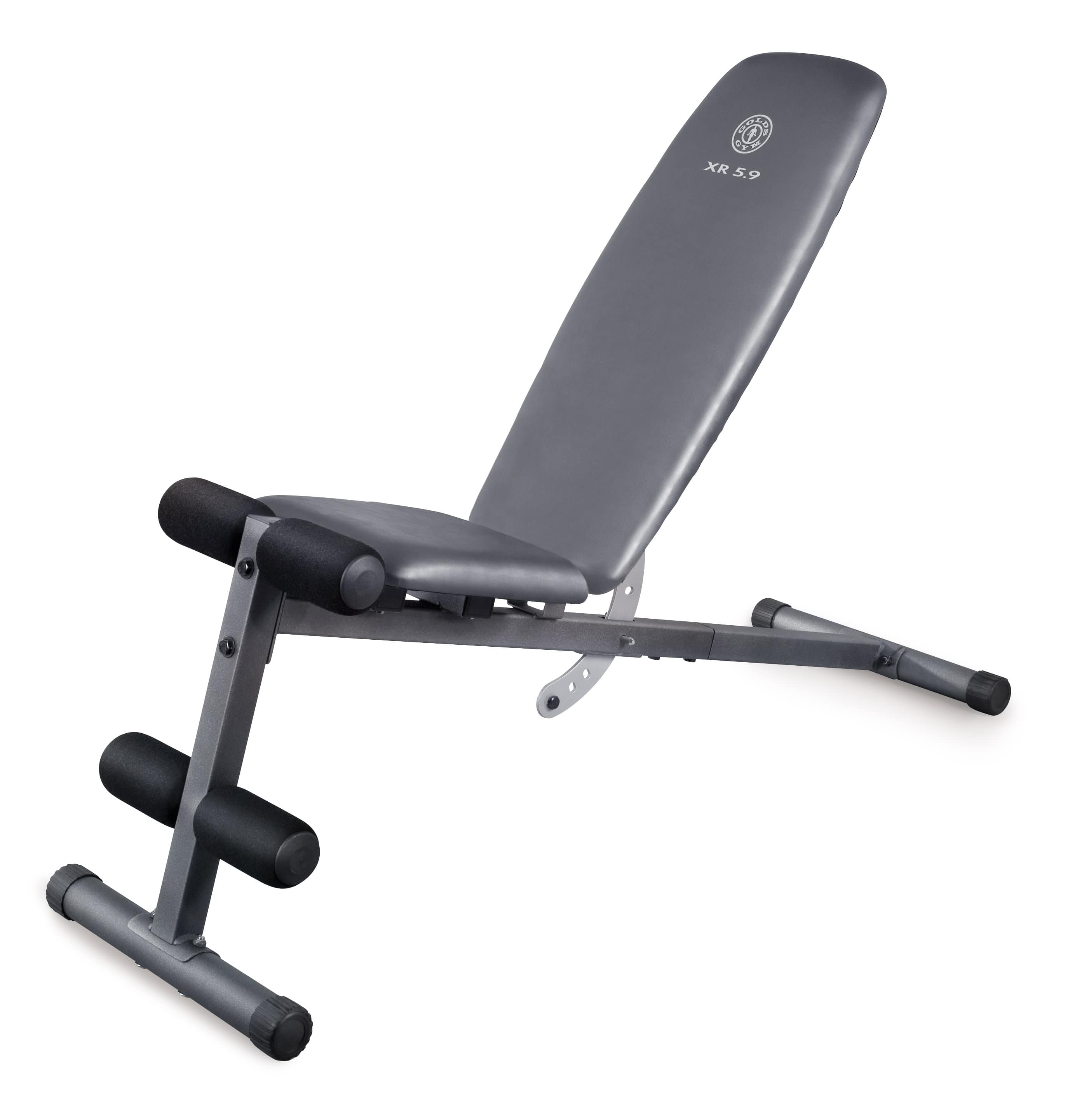 Weider XR 5.9 Adjustable Slant Workout Bench with 4-Roll Leg Lockdown and Exercise Chart (back in Stock) - $49 @ WalMart