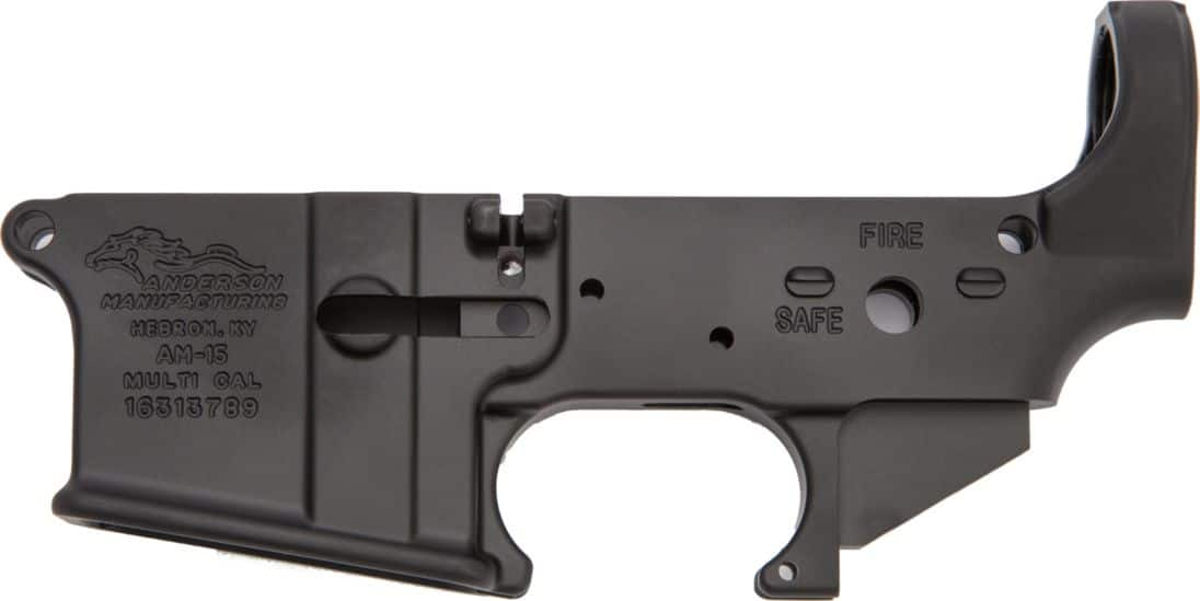 Anderson MFG Stripped AR15 Lower Receiver at Cabelas $49.99 pick up in store