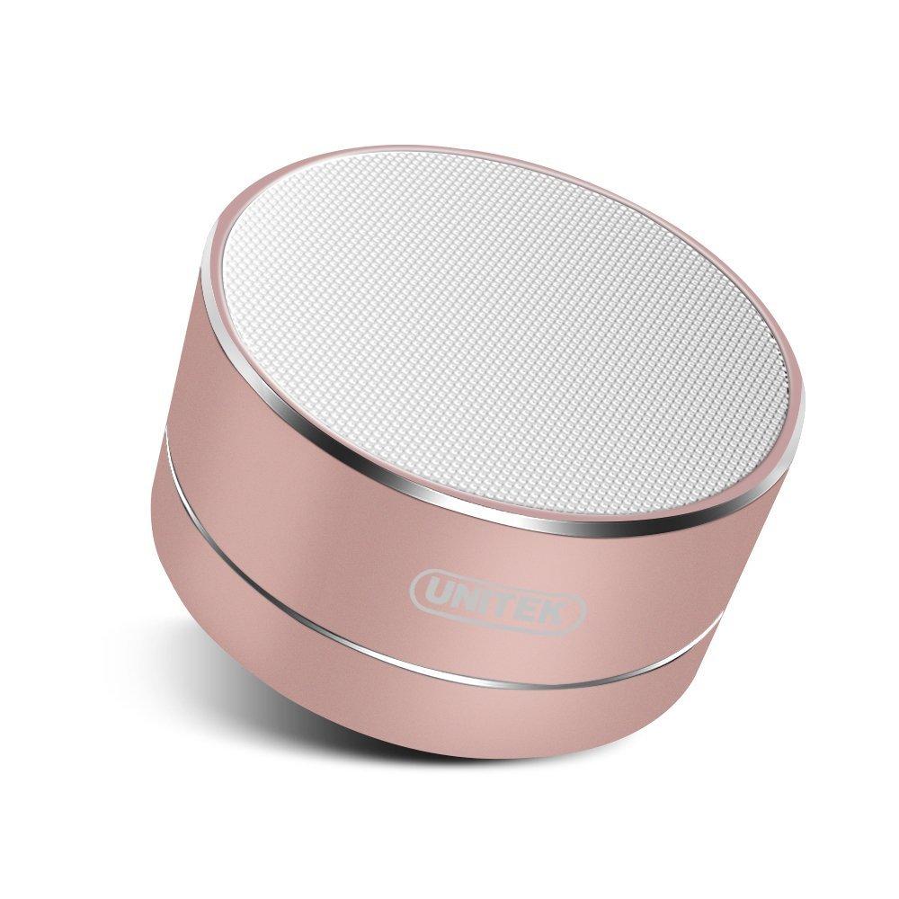 UNITEK Aluminum Portable Bluetooth 4.0 Wireless Stereo Speaker with Built-In Mic $12.15 + FS w/Prime