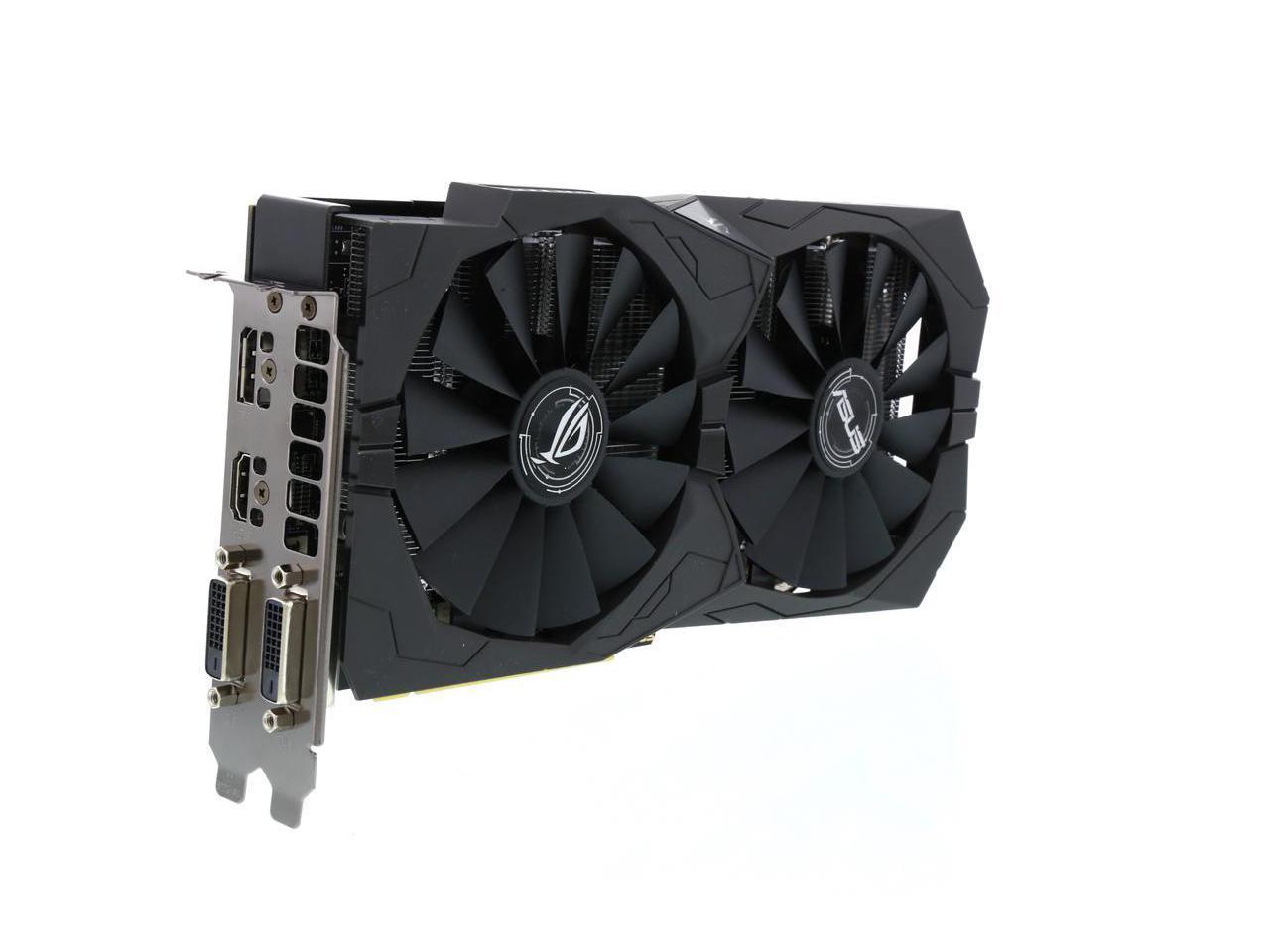 ASUS ROG Strix Radeon RX 570 OC Edition Graphics Card + 2 Games $130 + Free Shipping