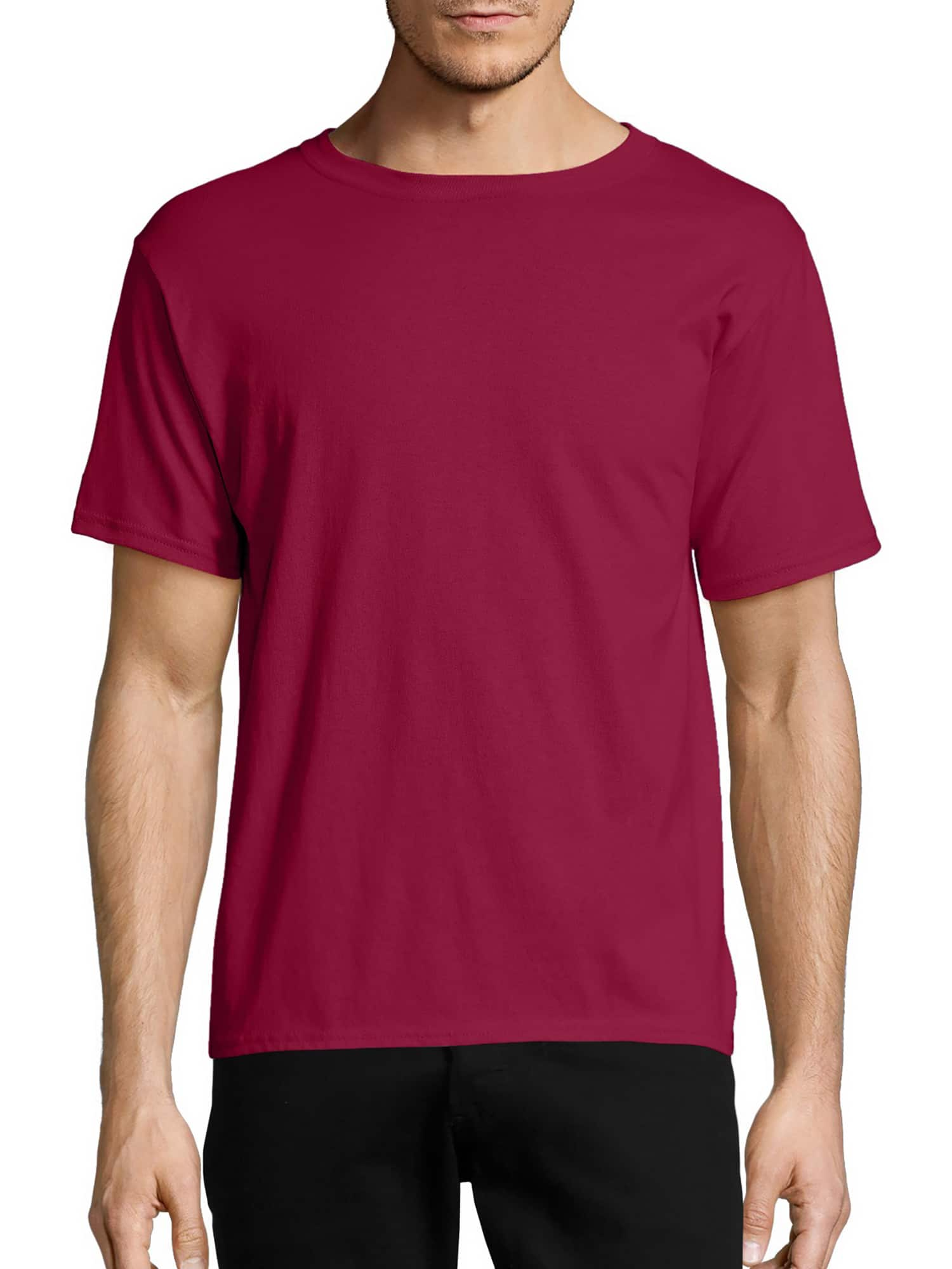 Hanes Men's Ecosmart Short Sleeve Tee $3.70 (different sizes and colors) @ Walmart free shipping over $35