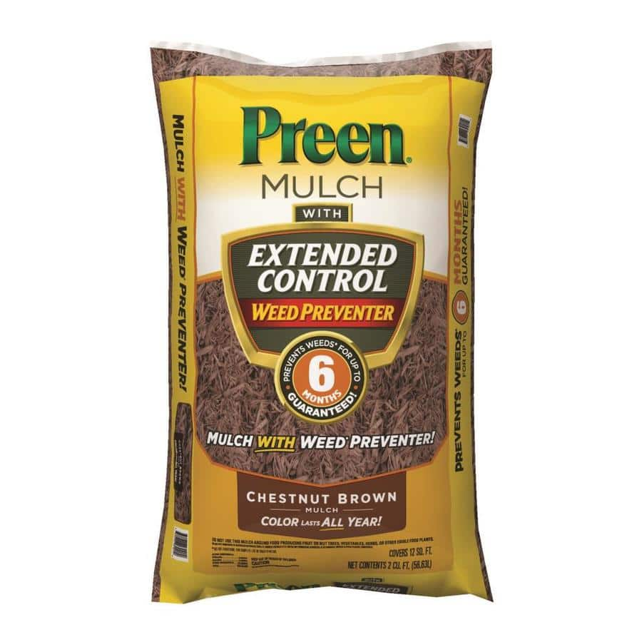 Preen mulch with extended control 2.5$