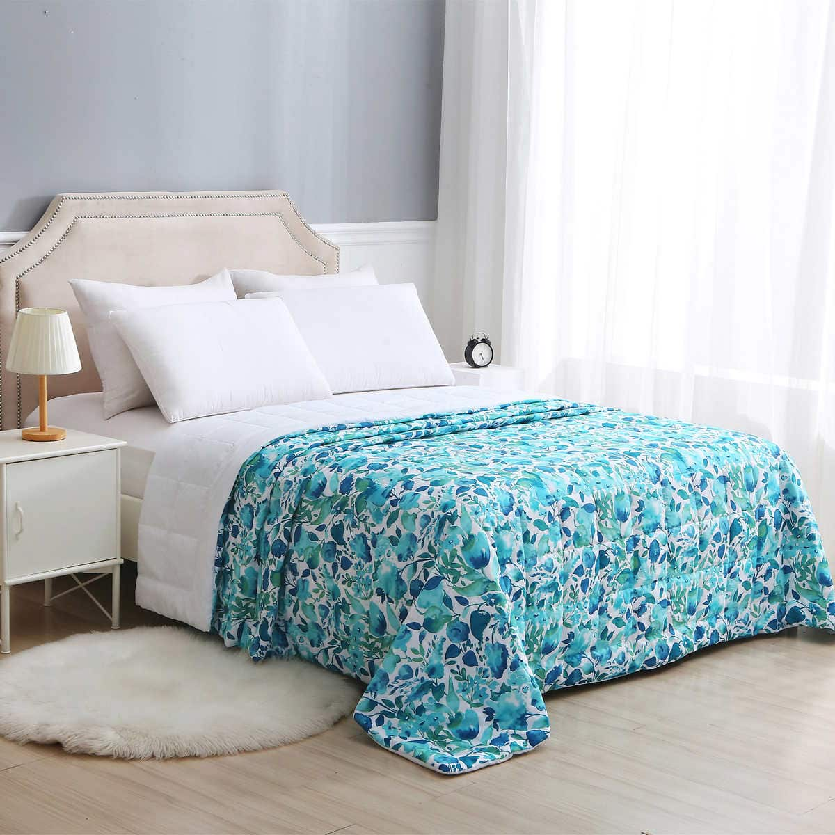 Reversible Down Alternative Blanket by Charisma $17.99 at Costco