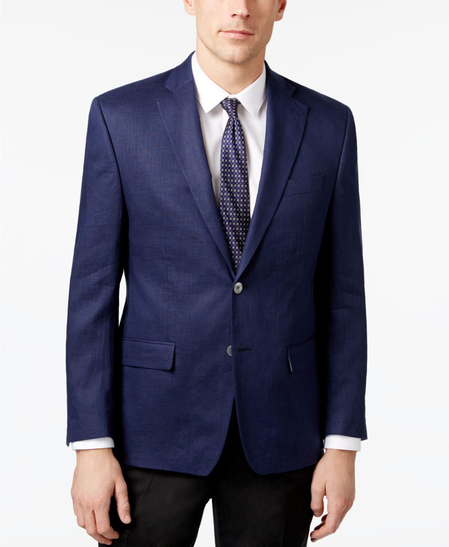 1b0f541ce0 Ralph Lauren Men s Classic-Fit Ultra-Flex Solid Linen Sport Coat  89..99 +  FS  89.99