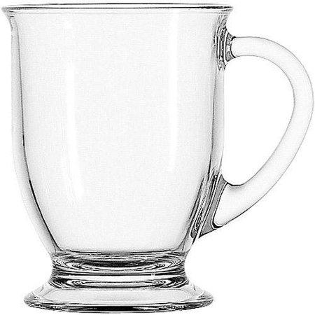 Mainstays Anchor Hocking Clear Mug Set, 4 Piece $9.99