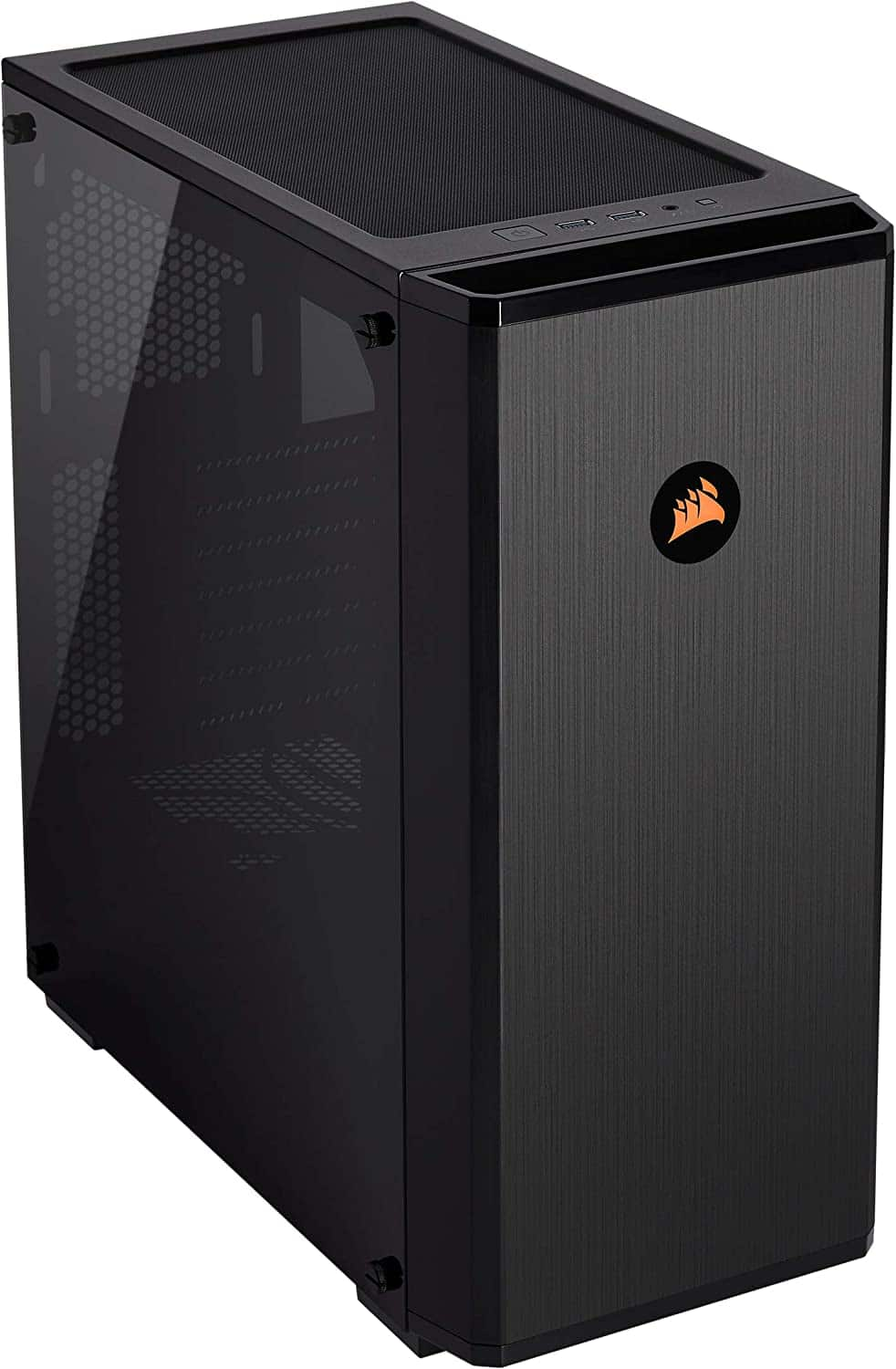 Corsair Carbide Series 175R RGB Tempered Glass Mid-Tower ATX Gaming Case, Black $59.99